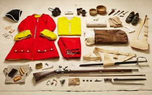 Utstyr til soldat 1700 tallet