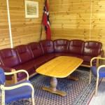 Sofa i nytt kontor